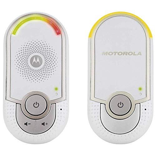 Motorola MBP 8 Babyphone, Digitales Wireless Babyfon, Mit Nachtlicht und DECT-Technologie, Zur...