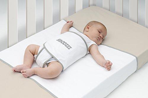 Snoozzz Schlafhilfe Regular für die Seitenlage und Ruckeinlage - Pucktuch - Lagerungskissen - für Wiege und...