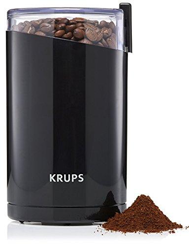 Krups F203 Kaffeemühle und Gewürzmühle, Schwarz