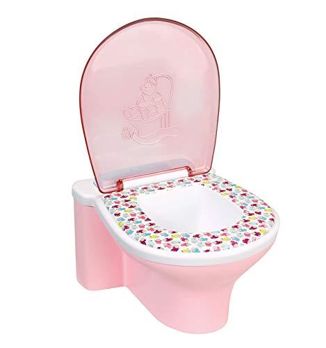 Zapf Creation 823903 BABY born Toilette mit Sound Puppenzubehör, bunt