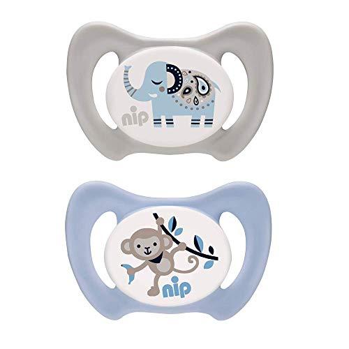 nip Dental-Schnuller Miss Denti: Erster Schnuller, der Beißdruck verteilt, in mehreren Größen, Made in...
