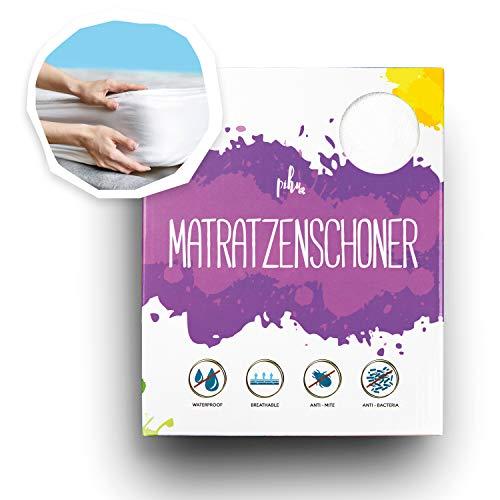 PIHU Matratzenschoner (Wasserdicht) Baby Kleinkind Kind (Inkontinenzauflage) Matratzenschutz (Atmungsaktiv +...