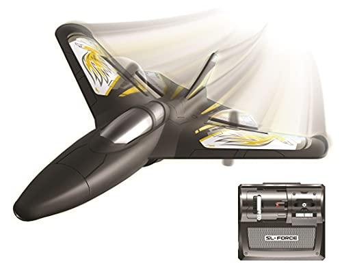 FLYBOTIC RC 85736 X-Twin by Silverlit, ferngesteuertes Flugzeug, für den Innen- und Außenbereich, einfache...