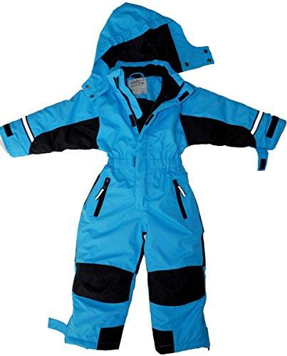 Maylynn - Softshell Skianzug Schneeanzug Blau, Größe:140