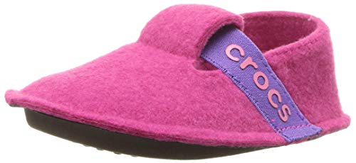 crocs Unisex-Kinder Classic Slipper Kids Hausschuhe, Pink (Candy Pink), 29/30 EU