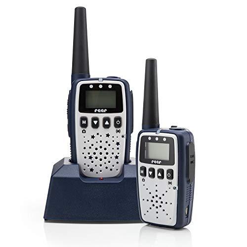 Reer Care&Talk 2in1 Babyphone und Walkie-Talkie, bis zu 5 km Reichweite