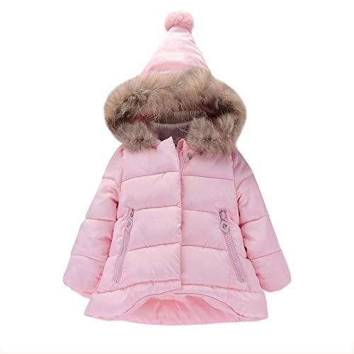 OVERMAL Baby Mädchen Daunenjacke Baby Kleinkind Mädchen Winterjacke Kinderjacken Winter Warm Mantel Jacke...