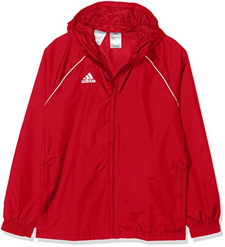 adidas CORE18 RN JKT Y, rot(power red/White), 128