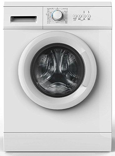 Amica WA 14681 W Waschmaschine Freistehend Frontlader Weiß 6 kg 1000 RPM A++ - Waschmaschinen (Freistehend,...