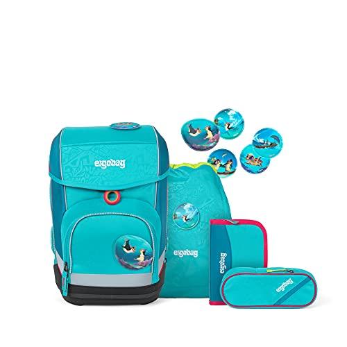 ergobag cubo Set - ergonomischer Schulrucksack, Set 5-teilig