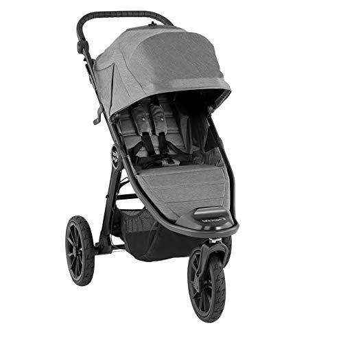 Baby Jogger City Elite2 Kinderwagen für jedes Gelände | Zusammenklappbarer und tragbarer | Slate (grau)