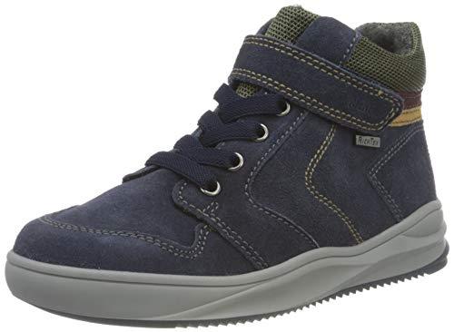 Richter Kinderschuhe Harry L 6756-8111 Sneaker, 7201atlanti/clay/cur/bur, 26 EU