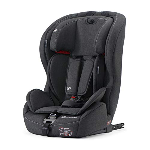 Kinderkraft Kinderautositz SAFETY FIX, Autokindersitz, Autositz, Kindersitz mit Isofix und Top Tether, Gruppe...