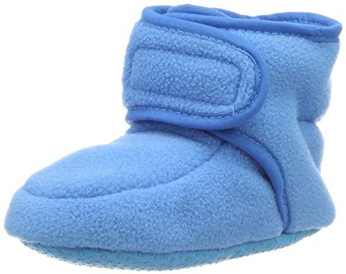 Playshoes Baby-Schuhe aus Fleece, Krabbelschuhe für Mädchen und Jungen mit rutschhemmender Noppen-Sohle,...