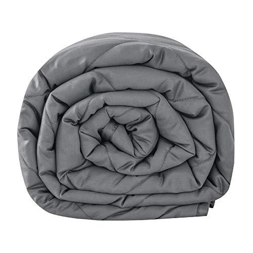 Leefun Gewichtsdecke 135x200CM,4KG Therapiedecke, 100% Baumwolle 7 Schichten Schwere Decke für Erwachsene,...