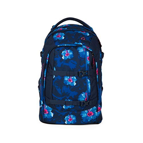 Satch pack Schulrucksack - ergonomisch, 30 Liter, Organisationstalent - Waikiki Blue - Dunkelblau