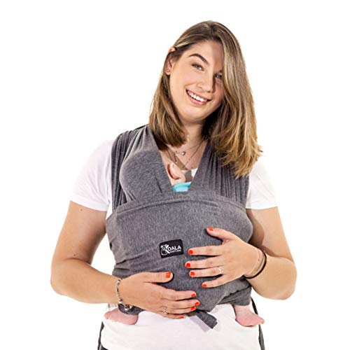 Koala Babycare® Baby Tragetuch-Leichtes Anziehen (Easy-On) - Unisex - Babytrage Neugeborene - Multi-Use - Bis...
