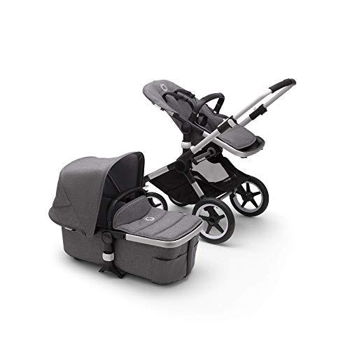 Bugaboo Fox 2 Kinderwagen – Zusammenklappbarer Babywagen mit vielfältigen Fächern & Guckloch im...