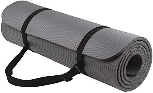 FiduSport Yogamatte Gymnastikmatte Phthalatfreie rutschfest und gelenkschonend Sportmatte für Yoga Pilates...