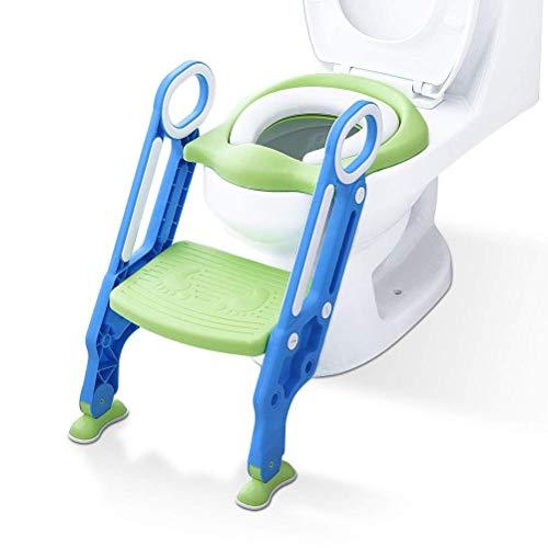 ADOVEL Töpfchentrainer Kinder-Töpfchen Toilettensitz Trainer Sitz für Kinder Toiletten Training mit...