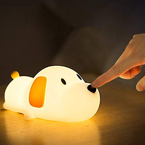 LED Nachtlicht mit Touch Schalter aus Silikon