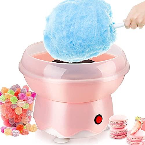 Kacsoo Mini Automatische Zuckerwattemaschine für den Heimgebrauch der Kinder, Runde Heizrohr Automatische...