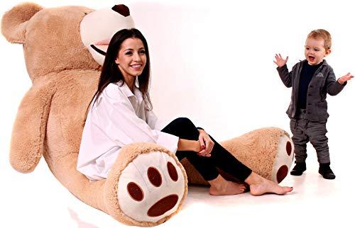 Riesen Teddybären 200cm - Teddybär Groß Baby Kuscheltiere - Kuscheltier Für Babys - Plüschtier Teddy Bär...