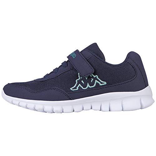 Kappa Kinder Turn-Schuhe Follow Kids | weiches Fußbett und kindgerechte Passform | praktische Zierschnürung...