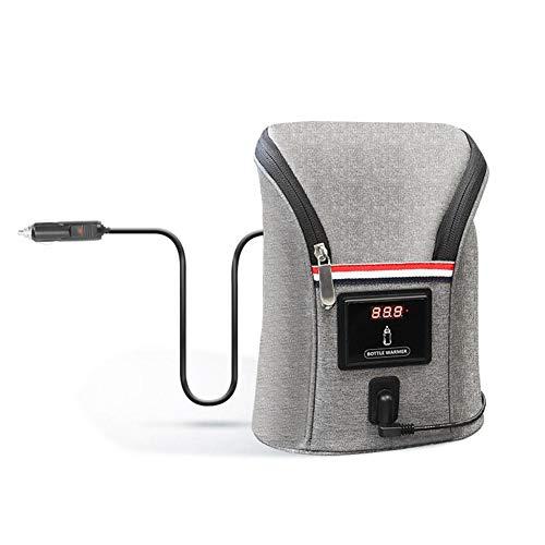 Lancei Fläschchenwärmer Babyflasche Isoliertasche Auto Babyflaschenwärmer Aufbewahrungstasche USB Auto...