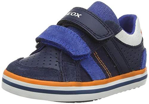 Geox B Kilwi Boy C Sneaker, Navy/ROYAL, 26 EU