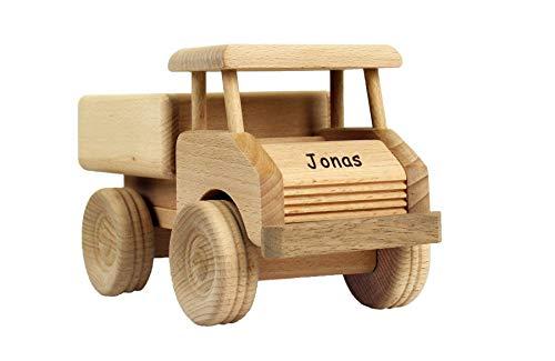 13,5 8,5 33 cm LKW mit Anh/änger Mamabrum Autotransporter aus Holz mit Fahrzeugen mit 1 LKW und 4 Holz Auto Spielzeug Kindergeburtstag Geschenke f/ür Kinder ab 3 4 5 Jahren M/ädchen Junge