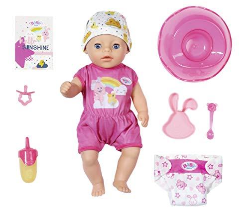 Zapf Creation 827789 BABY born Soft Touch Little Girl Puppe mit lebensechten Funktionen und Zubehör, weiche...