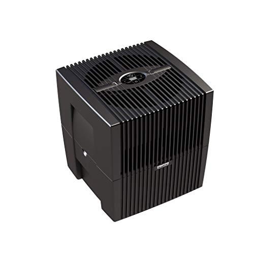 Venta Luftwäscher LW25 Comfort Plus Luftbefeuchter und Luftreiniger für Räume bis 45 qm, brillant schwarz,...