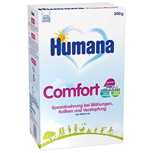 Humana Comfort, bei Blähungen, Verstopfung & Drei-Monats-Koliken, Spezialnahrung bei Verdauungsproblemen, mit...