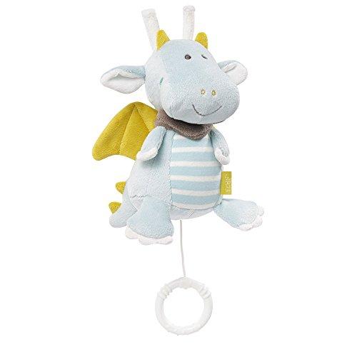 Fehn 065015 Spieluhr Drache – Aufzieh-Spieluhr mit herausnehmbarem Spielwerk – Für Babys und Kleinkinder...