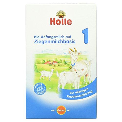 Holle Bio-Anfangsmilch auf Ziegenmilchbasis 1, 400g
