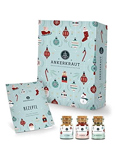 Ankerkraut Premium Gewürz-Adventskalender 2021 | Weihnachtskalender mit 24 Gewürz-Überraschungen | Gewürz...
