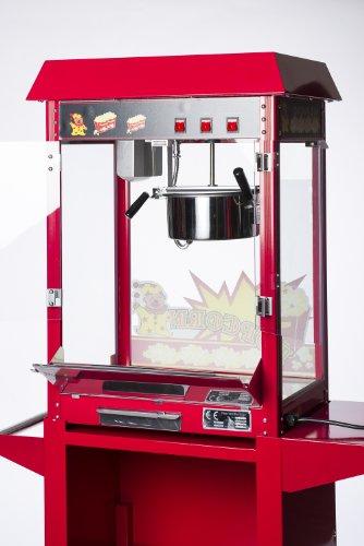 pajoma Popcornmaschine XXL ohne Wagen, rot, L 50 x B 36 x H 75 cm