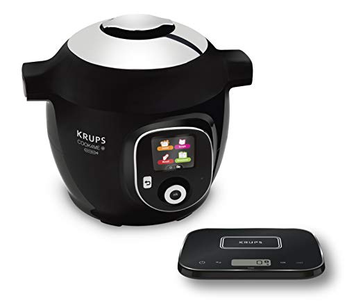 Krups CZ8568 Cook4Me+ Grameez Multikocher inkl. vernetzte Küchenwaage, (1600 Watt, 6 Kochstufen,...