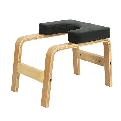 Q&Z Yoga Kopfstandhocker,Yoga Kopfstandstuhl Multifunktionale Sport ÜBungs Bank Ergonomische Griffe...