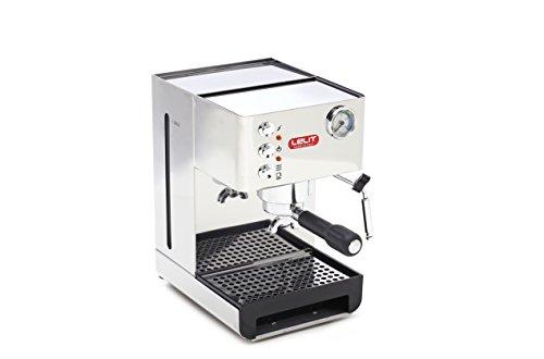 Lelit Anna PL41EM semi-professionelle Kaffeemaschine, ideal für Espresso-Bezug, Cappuccino und Kaffee-Pads,...