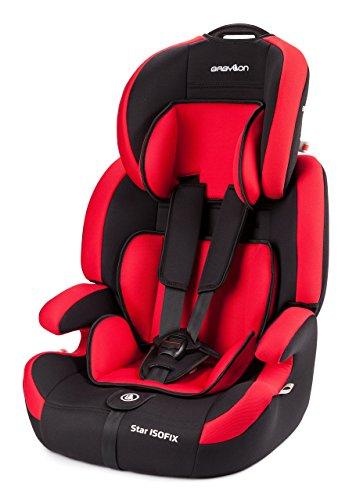 Babylon Star ISOFIX Autokindersitz Gruppe 1/2/3, 9-36kg Kindersitz mit Isofix und Top Tether 5 Punkt...