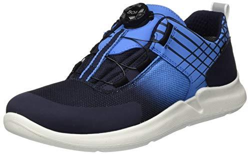 Superfit Jungen Thunder Sneaker, Blau (Blau/Blau 80), 33 EU