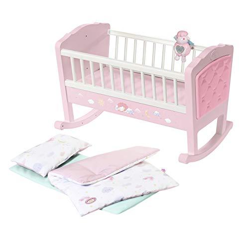 Zapf Creation 703236 Baby Annabell Sweet Dreams Wiege Puppenwiege mit automatischer Schaukelfunktion und...