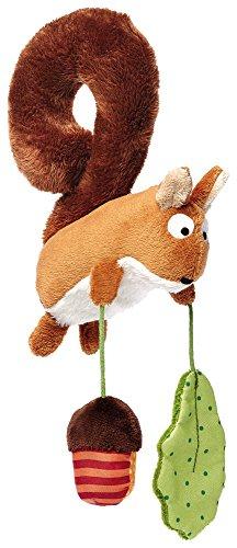 SIGIKID 41010 Anhänger Eichhörnchen Baby Activity On Tour Mädchen und Jungen Babyspielzeug empfohlen ab...