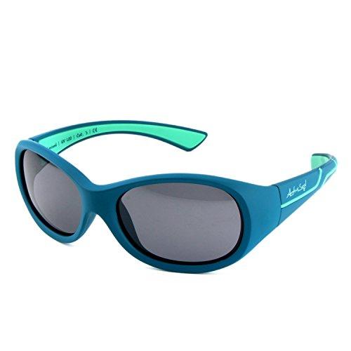 ActiveSol Kids @School Kinder Sport-Sonnenbrille | Mädchen und Jungen | 100% UV 400 Schutz | polarisiert |...