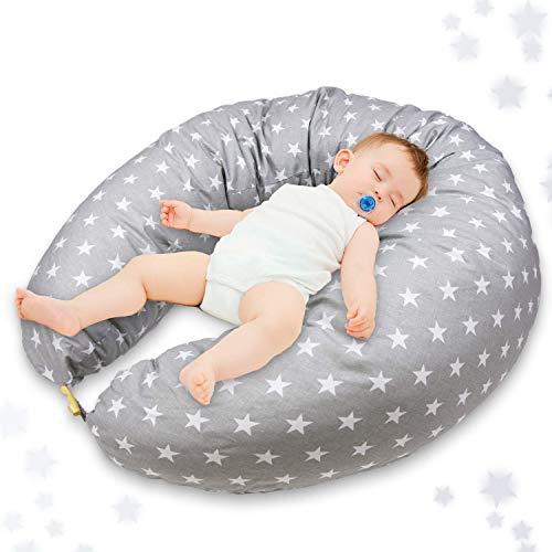 Stillkissen Schwangerschaftskissen zum Schlafen Seitenschläferkissen - Lagerungskissen groß Pregnancy Pillow...