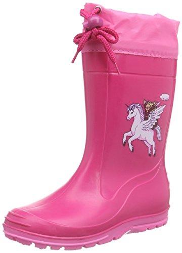 Beck Pferd pink 498, Mädchen Stiefel, pink, EU 28