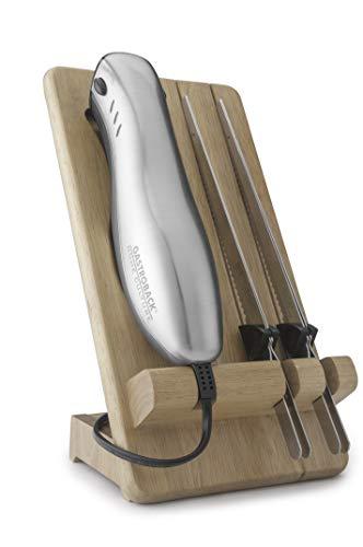 Gastroback 41600 Home Culture-Design Elektro Messer, INOX-Touch-Gehäuse, 120 Watt, inkl. Multischnitt-und...