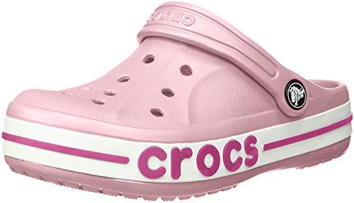 Crocs Jungen Unisex Kinder Boys & Girls Bayaband Clog, Petal pink, 25 EU